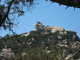 lion's rock in south Corsica