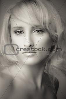 blond portrait