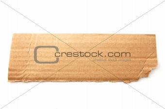 blank cardboard