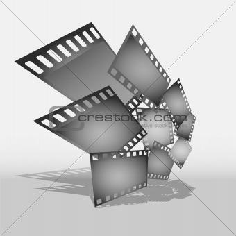 Gray film