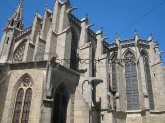 Carcassonne's cathedral