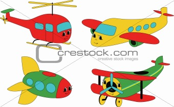 Air transport (vector)