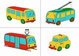 City transport (vector)