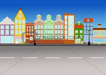 City street (vector)