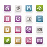 Phone Performance, Business and Office Icons