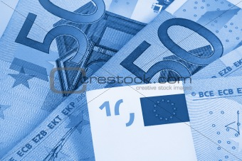 abstract euro money background