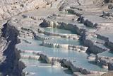Shimmering blue pools of Pumakkale