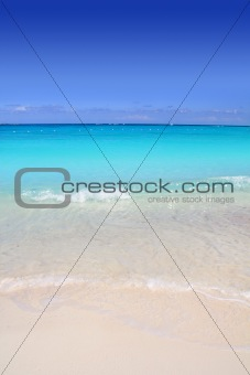 Caribbean turquoise sea beach shore