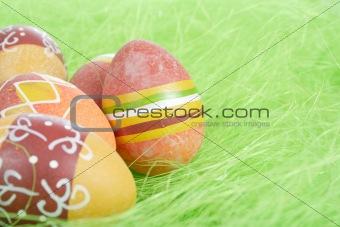 Painted brown Easter