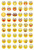 emoticons with a variety of expressions