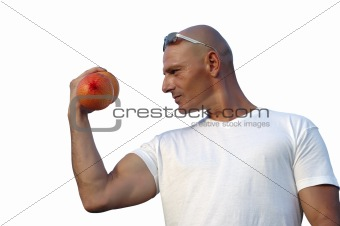 be strong with fruit eating