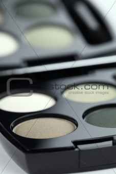 Green eyeshadows