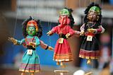 Marionette in Kathmandu Nepal