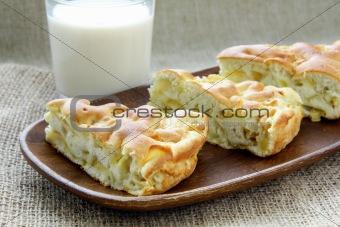 Beautiful delicious apple pie