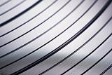 Macro shot of vinyl record