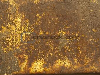 A metal texture.