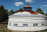 Landmark of ger in Mongolia