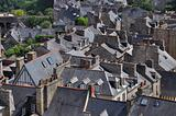 roofs of dinan