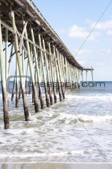 Pier at Carolina Beach, North Carolina