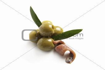 olives and anchoy