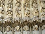 Notre Dame de Paris close-up