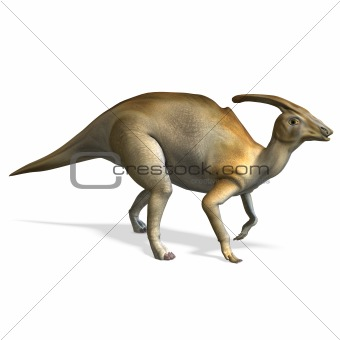 Dinosaur Parasaurolophus