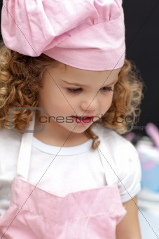 Portrait of a little chef