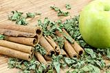 Cinnamon Sticks with apple
