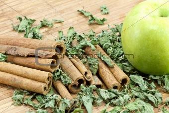 Cinnamon Sticks with apple
