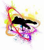 funky breakdance