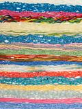 Colour threads for knitting