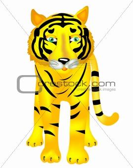 Beast of prey tiger