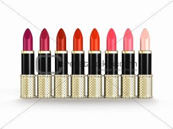 Palette of Luxury Lipsticks