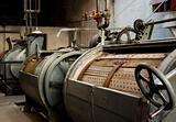 Old washing machine at a prison