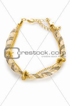 Bracelet isolated on the white background