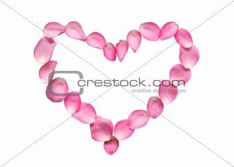 Pose Petals Heart