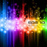 Magic Rainbow Lights Background for stylish Background