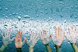 hailing the rain