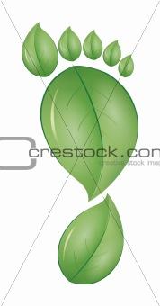 green foot