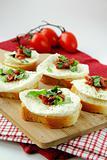 Italian Sandwich with mozzarella basil and tomatoes