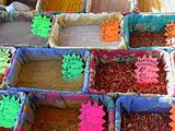 Spices, Nice market