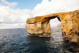 Natural rock arch Azure Window, Gozo