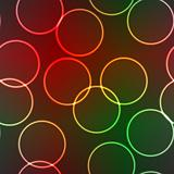 Abstract elegance background with lighting rings