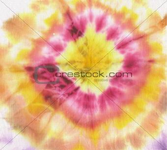 batik circle pattern
