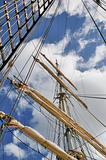 Mast of a sailing vessel