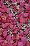 Background from pink stones