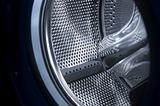 Washing machine drum interior