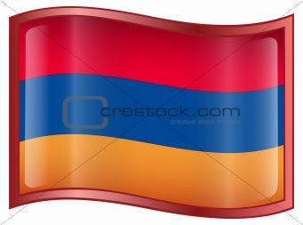 Armenia Flag icon.