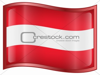 Austrian Flag icon.