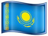 Kazakhstan Flag icon.